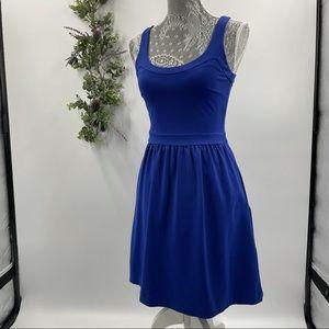 Cynthia Rowley | Blue Zippered A-Line Dress, XS
